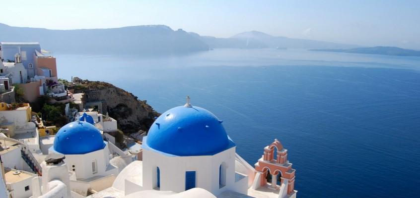Самый рамантичный остров Эгейского моря — Санторини !